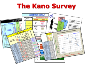 Kano Model Survey